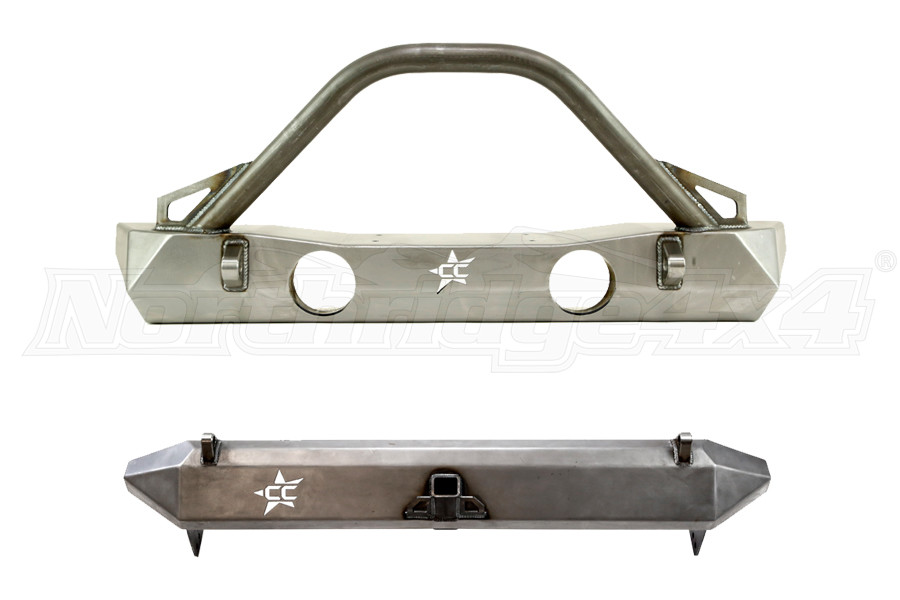 CRAWLER CONCEPTZ FRONT AND REAR BUMPER PACKAGE (Part Number:PKG1)