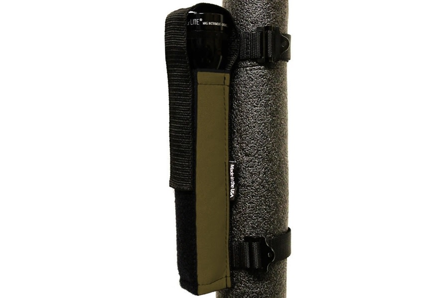 Bartact Extreme Roll Bar Multi-D-Cell Flashlight Holder - Coyote