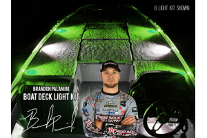 Rigid Industries Brandon Palaniuk A-Series Deck Light Kit 2 Cool White / 2 Green (Part Number: )