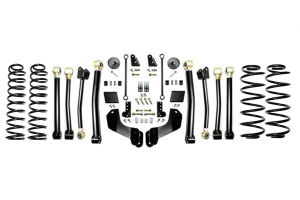 EVO Manufacturing 2.5in Enforcer Overland Lift Kit w/Shock Extensions Stage 4 - JL