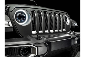 Oracle High Performance 20W LED Fog Lights - Red - JT/JL/JK Sahara/Overland/Rubicon Models