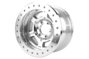 ATX Wheels AX757 17 x 9in Machined Silver Wheel ( Part Number: AX75779060524N)