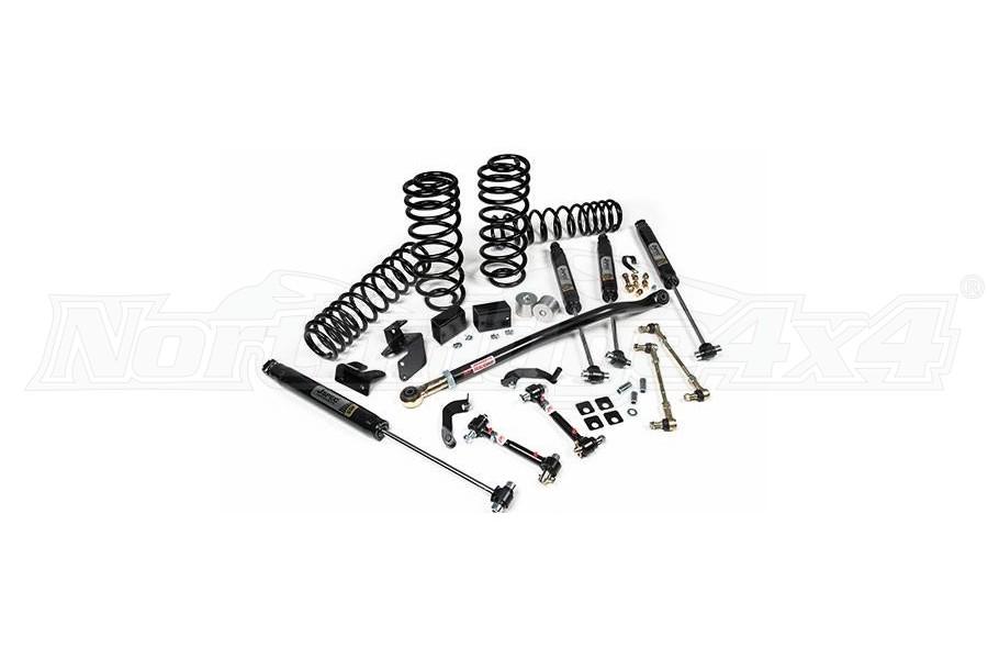 JKS J-Rated 5+ 2.5IN Lift Kit w/JSPEC Shocks - JL 4dr