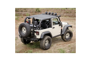 Rugged Ridge Pocket Island Topper Soft Top Black Diamond  - JK 2dr 2010+
