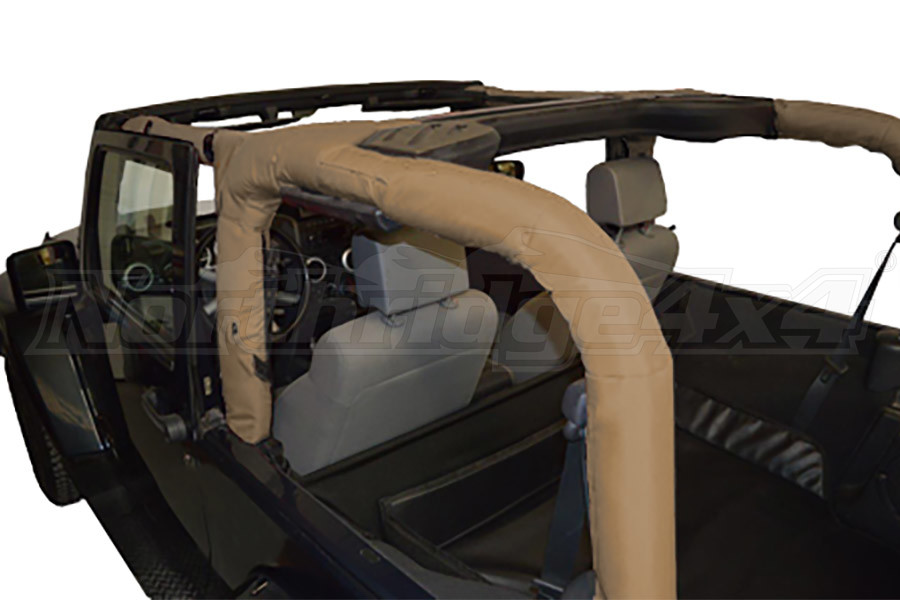 Dirty Dog 4x4 Roll Bar Covers Sand (Part Number:J2RBC07SD)