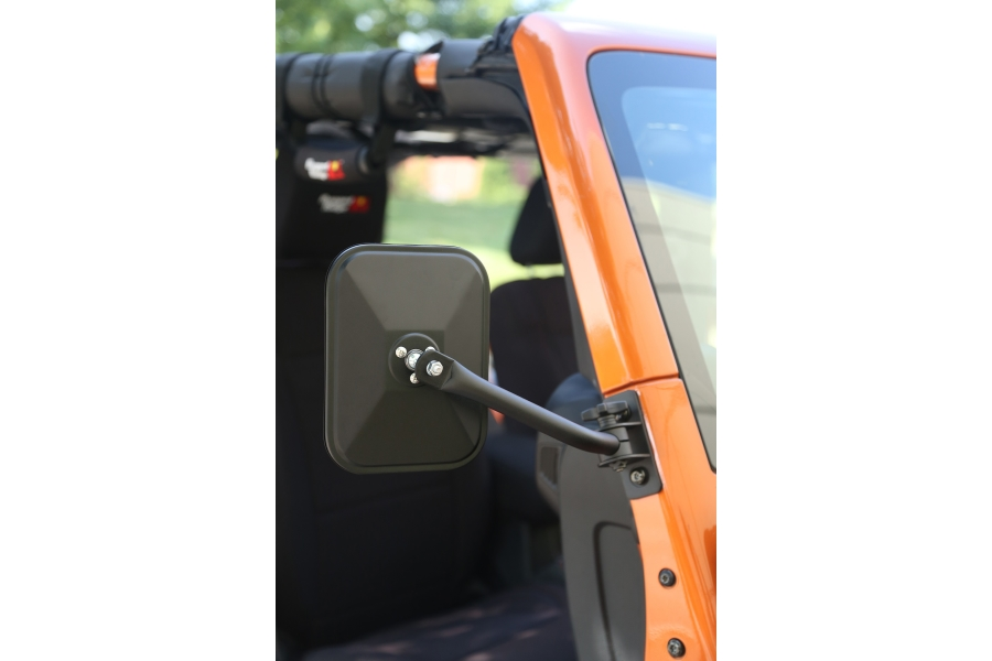 Rugged Ridge Quick Release Mirror Black  (Part Number:11025.14)