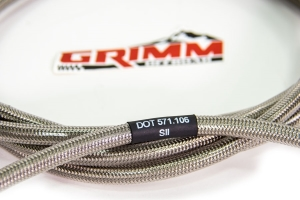 Grimm Offroad Braided Air Hose - 40in
