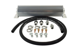 PSC 16in Single Pass Heat Sink Fluid Cooler Kit w/ 6AN Fittings
