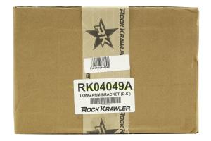 Rock Krawler Driver Side Long Arm Bracket for X Factor Systems - TJ/LJ