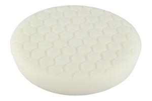 Chemical Guys White Hex-Logic 7.5in Medium-Light Polishing Pad