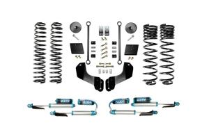 Evo Manufacturing 2.5in Enforcer Overland Stage 1 Lift Kit w/ Comp Adjuster Shocks - JT