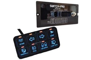 Switch Pros Bezel Style 8-Switch Panel Power System