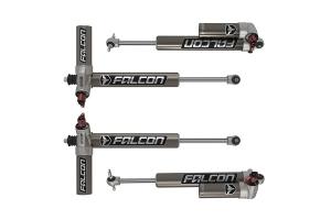 Teraflex Falcon Series 3.3 Adjustable Piggyback Shocks Front & Rear Kit 1.5-2.5in Lift - JK 4DR