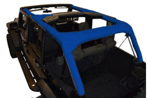 Dirty Dog 4x4 Roll Bar Covers Blue - JK 4dr