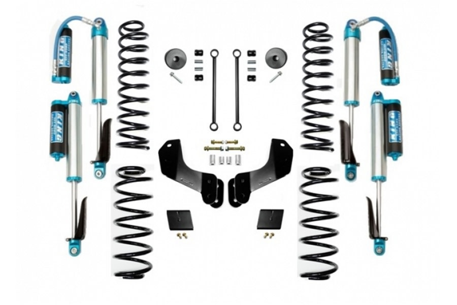 Evo Manufacturing 2.5in Enforcer Overland Stage 1 Lift Kit w/ Comp Adjuster Shocks - JL