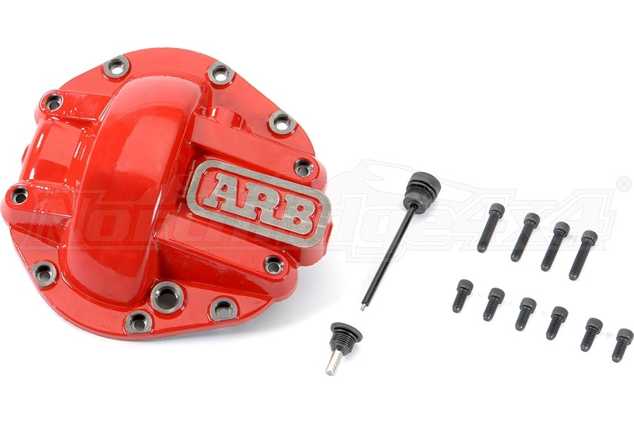 ARB Front M210 Diff Cover - Red - JT Rubicon and Non-Rubicon /JL Rubicon Only