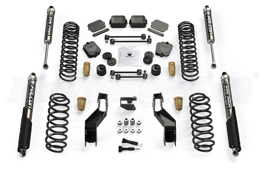 Teraflex 3.5in Sport ST3 Suspension System w/ Falcon 2.1 Shocks (Part Number:1513021)