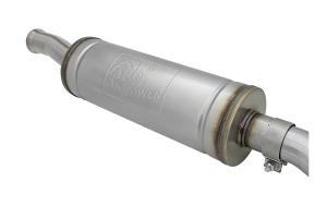 aFe Power MACH Force-Xp Hi-Tuck 2.5in Cat-Back Exhaust System - Black - JL 4Dr 3.6L