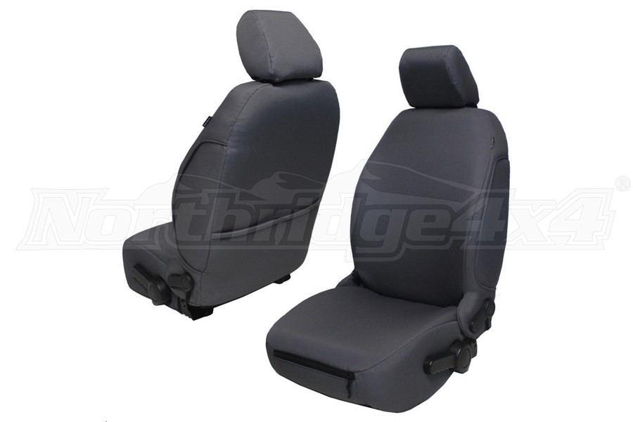 BARTACT Baseline Seat Covers Front Graphite - JK 2013+