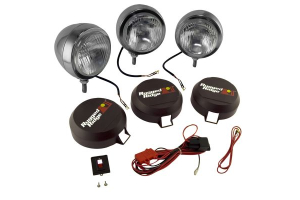 Rugged Ridge HID Fog Light Kit 5in Black (Part Number: )