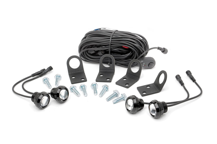 Rough Country Universal Rock Light Kit (Part Number:709RL-4)
