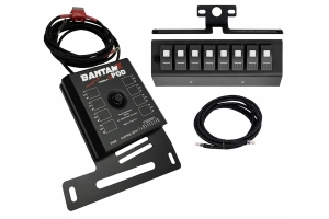 SPod BantamX w/LED Switch Panel, Blue - 07-08 JK