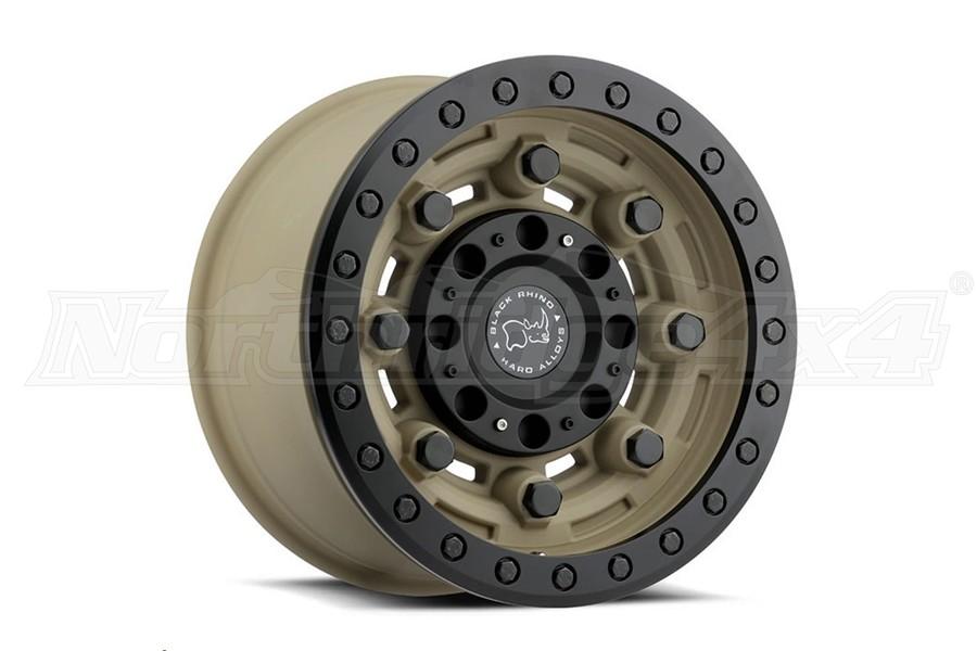 Black Rhino Garrison Beadlock Wheel 17x8.5 5x5 Desert Sand (Part Number:1785GAR-25127D71)