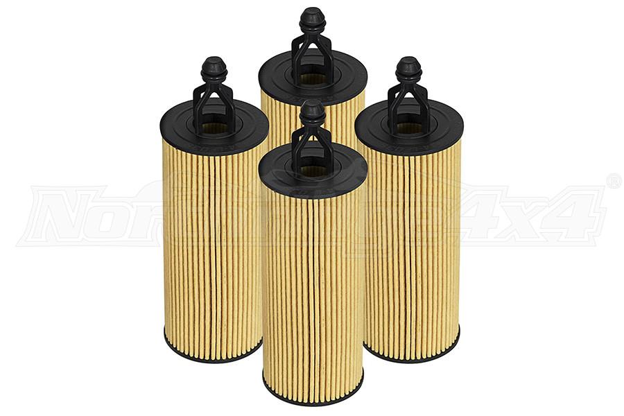 AFE Power Pro GUARD D2 Oil Filter 4-Pack - JT/JL/JK 2014+ 3.6L