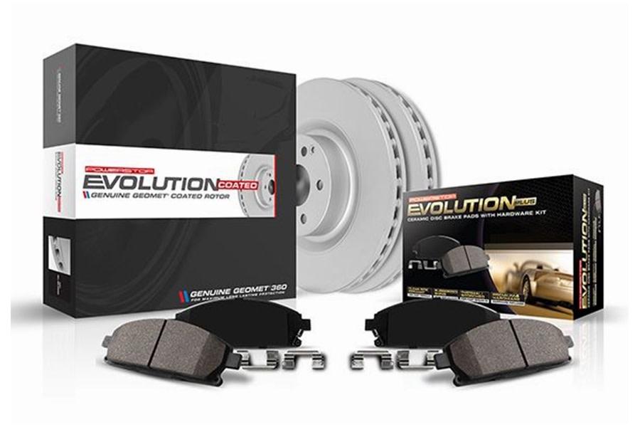 Power Stop Z17 Evolution Geomet Coated Rotor Brake Kit - JL Rubicon/Sahara Models