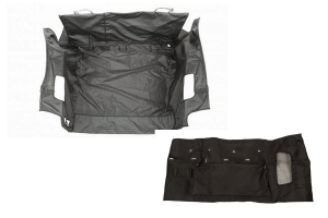 Rugged Ridge C3 Cargo Cover w/C3 Tailgate Cover Package - JK 2007-14 w/ Subwoofer