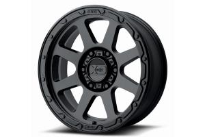 XD Wheels XD134 ADDICT 2 Series Wheel, Matte Black - 17X9 8X6.5