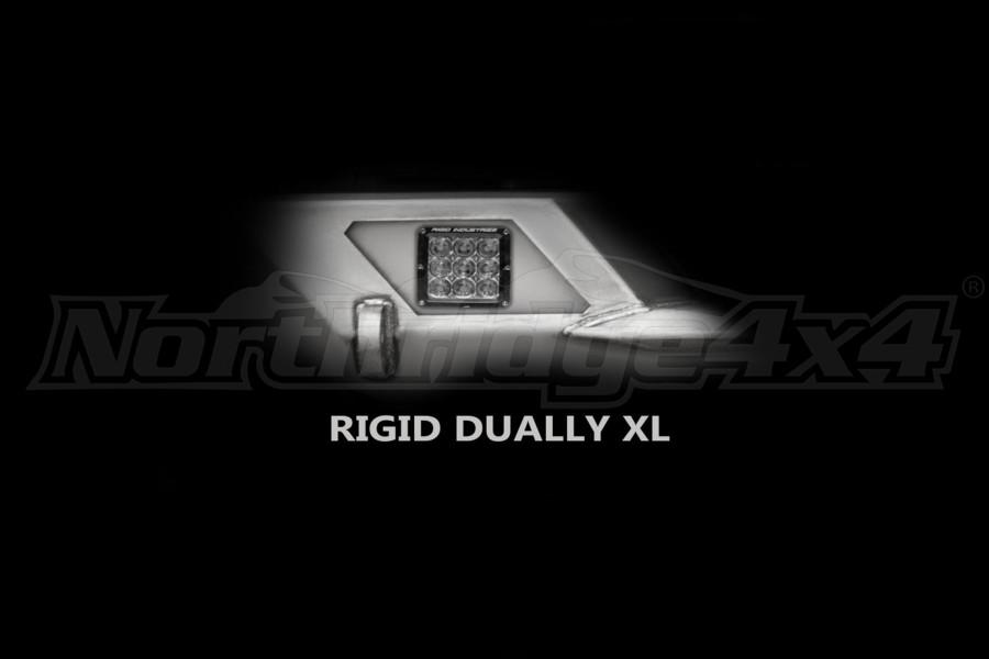 LOD Destroyer Light Bezel Options, Rigid D-Series XL Light Bare Steel (Part Number:JLB0730)