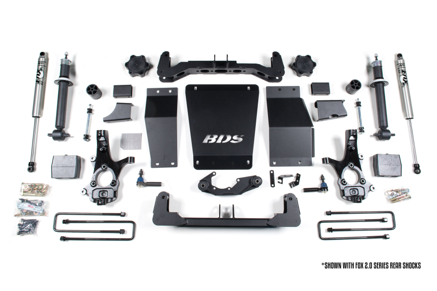 BDS Suspension 6in Lift Kit (Part Number:710H)