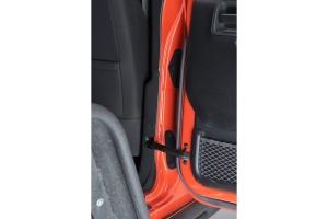 Kentrol 8-Pieces Body Door Hinge Set - Textured Black  - JK 4Dr