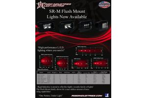 Rigid Industries SR-M2 Flush Mount Diffused Amber (Part Number: )