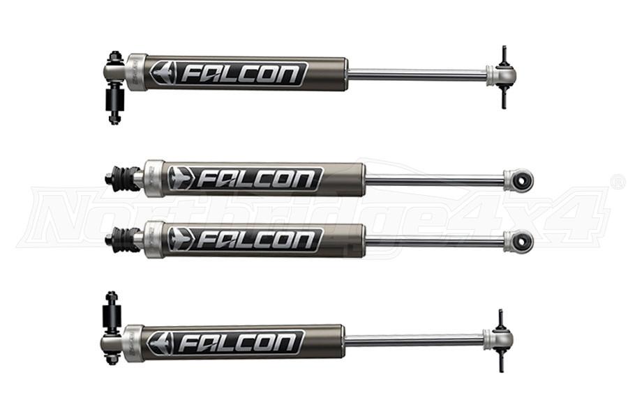 Teraflex Falcon Series 2.1 Sport Monotube Shock Front & Rear Kit, 1.5in - 2in Lift (Part Number:03-01-21-400-002-1)