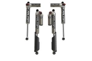 Teraflex Falcon Series 3.3 Fast Adjust Piggyback Front & Rear Shock Absorbers, 2-4.5in Lift  - JL 4Dr