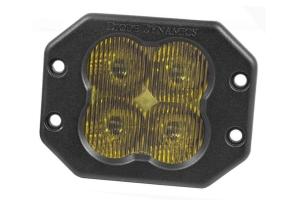 Diode Dynamics SS3 Sport Flush Mount LED Pod - Yellow SAE Fog