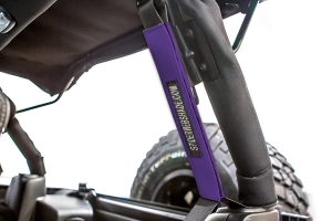 SpiderWebShade Seatbelt Silencers - Purple - JK 4Dr