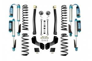 Evo Manufacturing 2.5in Enforcer Overland Stage 2 Lift Kit w/ Comp Adjuster Shocks - JL