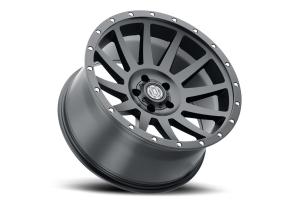 Icon Vehicle Dynamics Compression Wheel Satin Black, 20x10 5x5 - JT/JL/JK
