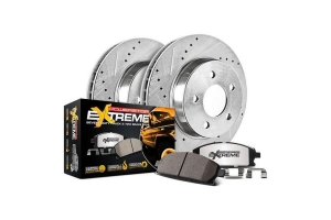 Power Stop Z36 Extreme Performance Truck and Tow Rear Brake Kit - JL