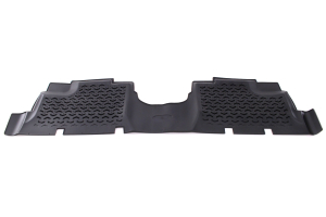 Rugged Ridge Floor Mats Rear Black - JK 4dr
