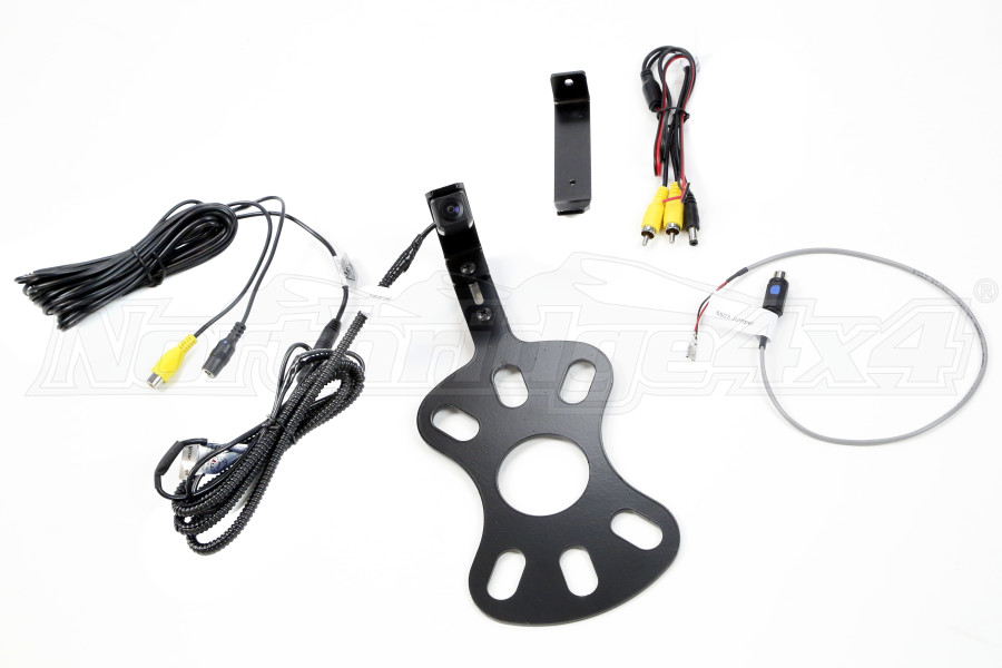 BrandMotion Adjustable Rear Vision Camera w/ RCA and Factory Display Harness (Part Number:9002-8848)