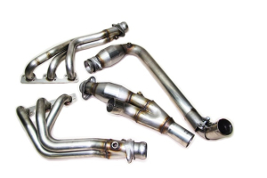 RIPP Superchargers Long-Tube Headers Catted ( Part Number: 072010JK38-LTHDR)