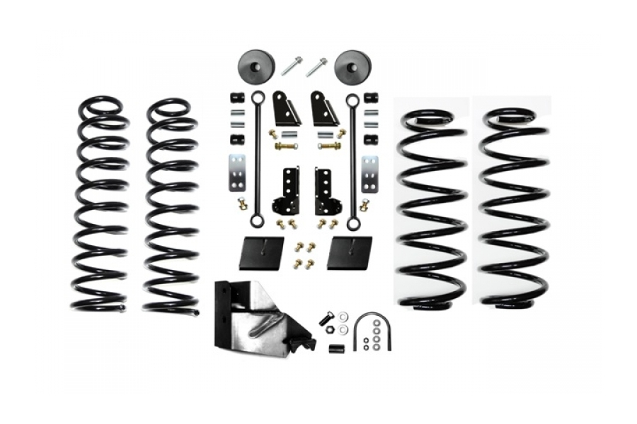 EVO Manufacturing 3.5in Enforcer Lift Kit w/Shock Extensions Stage 1 (Part Number:3013S1EXT)