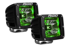 RIGID INDUSTRIES RADIANCE POD Green BACKLIT (Part Number: )