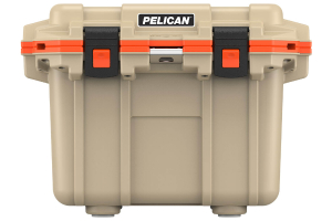 Pelican 30QT Elite Cooler - Tan Orange