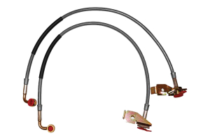 Rancho Performance Front Brake Lines - length - 24.5in (Part Number: )