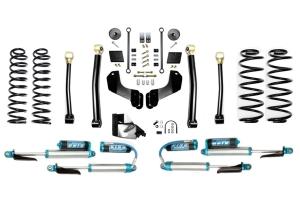 Evo Manufacturing 4.5in Enforcer Overland Stage 3 Lift Kit w/ King Shocks - JL Diesel